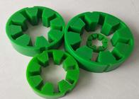 کیفیت خوب ورق لاستیکی صنعتی & Falk Coupling R10 - R80 با پلی اورتان سبز 97 Shore A با مقاومت کششی بالا حراج