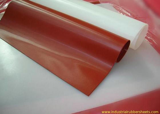 چین ورق لاستیکی 100٪ ویرجین سیلیکون رول درجه مواد غذایی بدون بو توزیع کننده