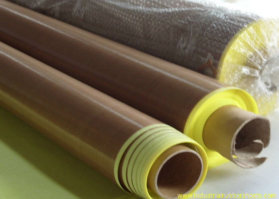Anti-aging Adhesive + Paper PTFE Coated Fiberglass Fabric Surface Smooth